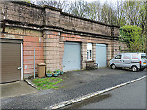 NS4473 : Site of Lanarkshire and Dunbartonshire Railway Bowling station by Thomas Nugent