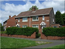 NZ3449 : Houses on Hall Lane, Houghton-Le-Spring by JThomas