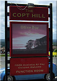 NZ3549 : Sign for the Copt Hill pub, near Houghton-le-Spring by JThomas