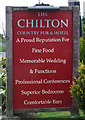 NZ3149 : Sign for the Chilton Country Pub & Hotel by JThomas