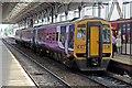 SD5329 : Northern Rail Class 158, 158755, platform 2, Preston railway station by El Pollock