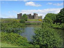 ST1587 : Caerphilly Castle by Gareth James