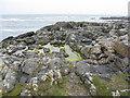 NL9343 : Rock pool at Sandaig by M J Richardson