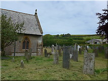 SS6243 : St Thomas, Kentisbury: churchyard (c) by Basher Eyre