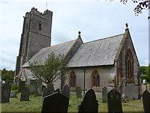 SS6243 : St Thomas, Kentisbury: churchyard (e) by Basher Eyre