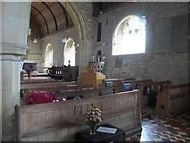 SS6243 : Inside St Thomas, Kentisbury (E) by Basher Eyre