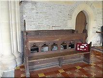SS6243 : St Thomas, Kentisbury: choir stalls by Basher Eyre