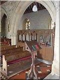 SS6243 : St Thomas, Kentisbury: lectern by Basher Eyre