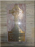 SS6243 : St Thomas, Kentisbury: memorial (a) by Basher Eyre