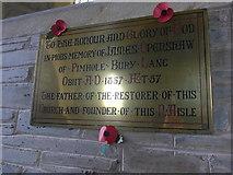 SS6243 : St Thomas, Kentisbury: memorial (b) by Basher Eyre
