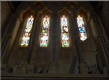 SS6243 : St Thomas, Kentisbury: stained glass window (3) by Basher Eyre