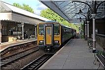 SD9926 : Northern Rail Class 153, 153316, Hebden Bridge railway station by El Pollock