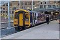 SJ8499 : Northern Rail Class 158, 158753, platform 1, Manchester Victoria railway station by El Pollock