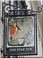 NZ2464 : Sign for The Star Inn, 77-79 Westgate Road, NE1 by Mike Quinn