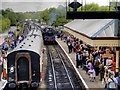 SD7916 : Wartime Weekend, Ramsbottom Station by David Dixon