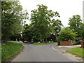 TM0780 : School Road, Bressingham by Adrian Cable