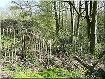 SE0722 : The western end of Sowerby Bridge FP148 (1) by Humphrey Bolton