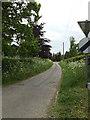TM0780 : Church Lane, Bressingham by Adrian Cable