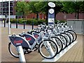 J3374 : Belfast Bikes, Millfield/Divis Street (May 2015) by Albert Bridge