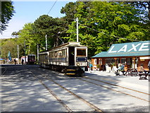 SC4384 : Car No 7 at Laxey station by Dr Neil Clifton