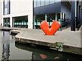 TQ3083 : Regent's Canal passing Kings Place Arts Building by David Dixon