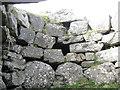 NM0449 : Dùn Mòr broch guard chamber by M J Richardson