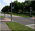 SU3620 : Pelican crossing, Southampton Road, Romsey by Jaggery