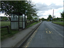 NZ3343 : Bus stop and shelter on Coalford Lane by JThomas