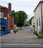 SU3521 : New homes this way, Brick Lane, Romsey by Jaggery