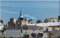 NO8785 : Stonehaven rooftops by John Allan