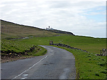 HU4009 : The road to Sumburgh Head by John Lucas