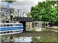 TQ2884 : Regent's (Grand Union) Canal Bridge#24, Camden High Street by David Dixon