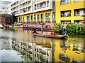 TQ2883 : Punting on the Regent's (Grand Union) Canal by David Dixon