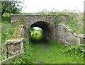 NZ1483 : Redundant bridge  by Russel Wills