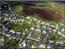 HU4039 : Scalloway aerial view by John Lucas