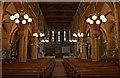 TQ7910 : Interior, St Matthew's church, St Leonards by Julian P Guffogg