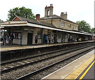 SU3521 : Main railway station building, Romsey by Jaggery