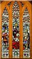 TQ7910 : Stained glass window, St Matthew's church, St Leonards on Sea by Julian P Guffogg