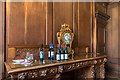SP5106 : Mantle Clock, Dining Room, Brasenose College, Oxford by Christine Matthews