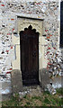 TM3485 : St Margaret, Ilketshall St Margaret - Priests door by John Salmon