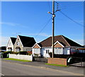ST6279 : Wires over Church Road, Stoke Gifford by Jaggery