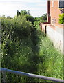 ST6379 : Grassy track south of Hambrook Lane, Stoke Gifford by Jaggery