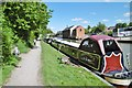 SU0061 : Devizes, canal moorings by Mike Faherty