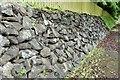 J3269 : Retaining wall, Clement Wilson Park, Belfast (June 2015) by Albert Bridge