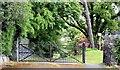 J3269 : Entrance gates, Clement Wilson Park, Belfast (June 2015) by Albert Bridge