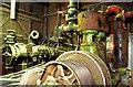 SK5703 : Raab Karcher, Swan Lake Mill - steam engine by Chris Allen