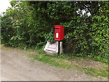 TM1057 : 1 Red Houses Postboxes by Adrian Cable
