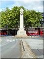 TQ2982 : Euston Station War Memorial by David Dixon