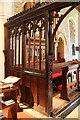 TQ3050 : St Peter & St Paul, Nutfield - Screen by John Salmon