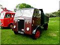 H3682 : Albion lorry, Baronscourt by Kenneth  Allen